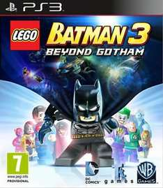 LEGO BATMAN 3 BEYOND GOTHAM GAME PS3 BRAND NEW SEALED OFFICIAL PAL £14.85 @ ebay / User ID shopto_outlet
