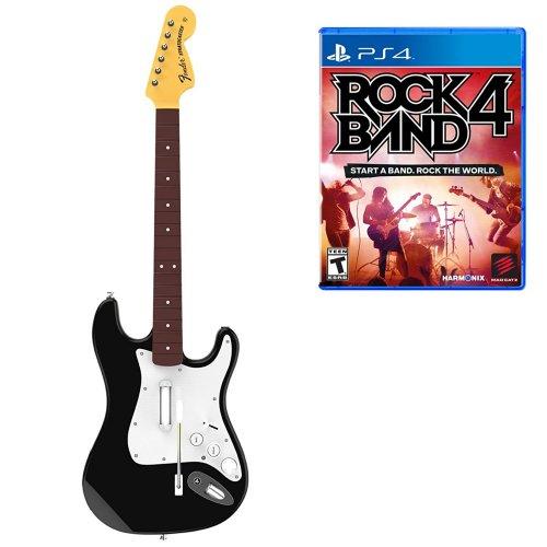 [PS4] Rock Band 4 Fender Stratocaster Guitar Software Bundle - £22.99 - Game