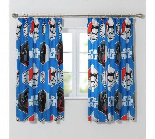 Star Wars pencil pleat curtains £6.99 @ Argos