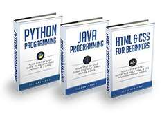 Programming: For Beginners: 3 Manuscripts in 1 Bundle - Python For Beginners, Java Programming and Html & CSS For Beginners - Kindle (Amazon)