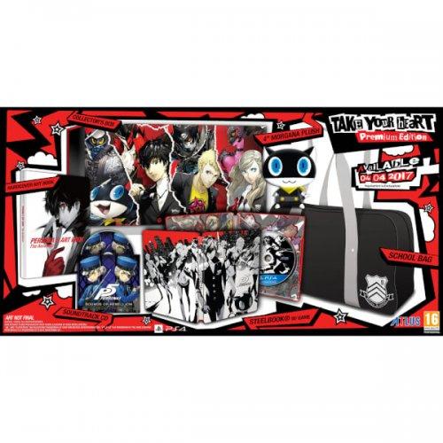 Last Batch! Persona 5 Collectors Edition PS4 - Take Your Heart Edition £79.99 @ Zavvi