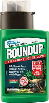 Roundup Tree Stump and Rootkiller Bottle - £10 with Prime - £13.99 without - Amazon
