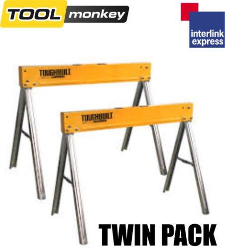 Toughbuilt C300 Saw Horse Twin Pack £59.99 Delivered ebay /  toolmonkey-shop