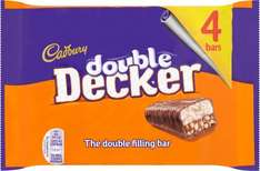 Cadbury Double Decker (4 pack) 89p @ Poundstretcher