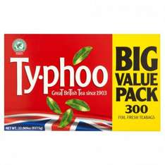 Ty-phoo  300 Tea bags £2.39 at Poundstretcher