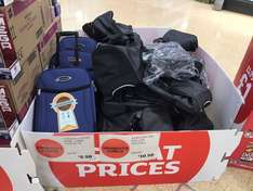 Constellation Cabin Luggage reduced £5.50 in store at Sainsburys