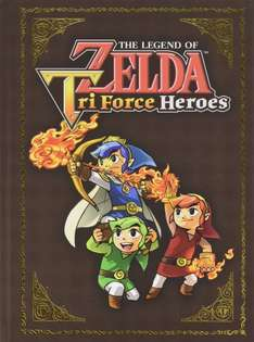 The Legend of Zelda: Triforce Heroes Collector's Edition Guide (Hardback)  + Zelda Screen Cleaner £6 del @ The Works with code