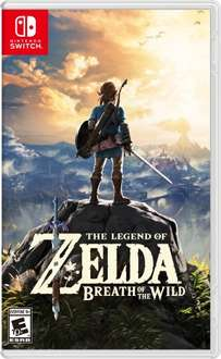 The Legend of Zelda: Breath of the Wild for switch + The Legend of Zelda: Breath of the the Wild - Exclusive pin badge - £47.86 @ Shopto