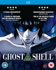 Ghost in the Shell (Blu-Ray) - new edition - £7.20 delivered from Zoom (with code), DVD for £6.30
