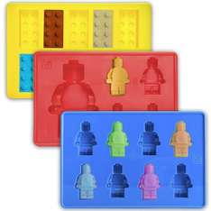 3 pack lego chocolate, ice cube moulds now only  £4.99 (Prime or £8.98 non Prime) Sold by savannah_home and Fulfilled by Amazon