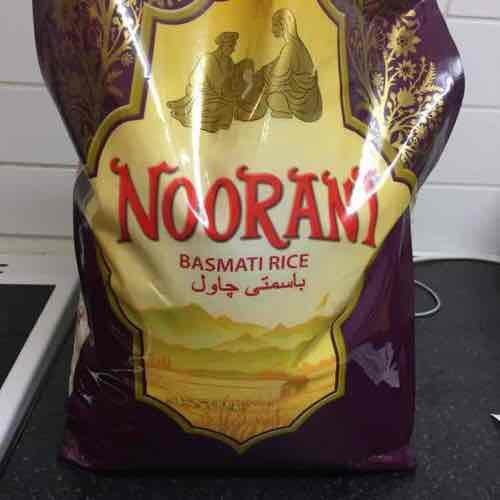 Noorani Basmati Rice 10KG £4.50 in store asda Barking