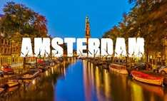 From Southend: Group of 6 Weekend in Amsterdam £106.80pp @ booking.com