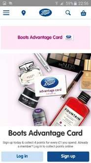 Boots advantage card app offer stack in store only