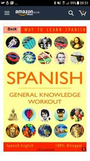 SPANISH - GENERAL KNOWLEDGE WORKOUT #1: A new way to learn Spanish Free @ Kindle Amazon