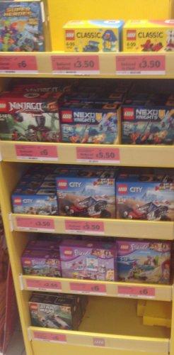 Lego Clearance £3.50 Sainsbury's Leamington