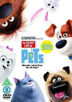 Secret Life of Pets DVD with digital download  £6.99 @ Boots - derby