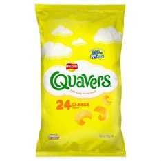 Quavers Cheese Snacks (24 x 16g pack) was £2.99 now £1.49 @ Poundstretchers