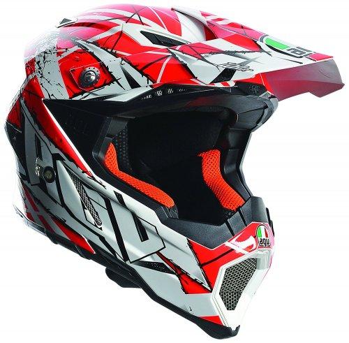 AGV Helmet, AX 8 EVO E2205, Scratch White/Orange, MEDIUM ONLY £86.41 @ Amazon