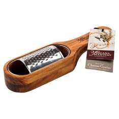 Acacia Wood Italian Parmesan Grater by Toscana Harvest £7.99 (Free C&C) @ tesco Direct