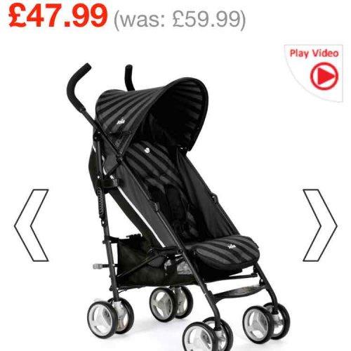 Joie Nitro Baby Stroller Liquorice £47.99 @ Smyths Toy Store