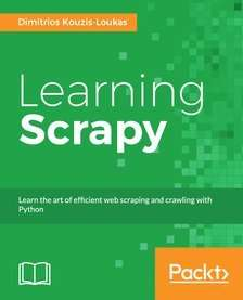 Learning Scrapy at Packtpub