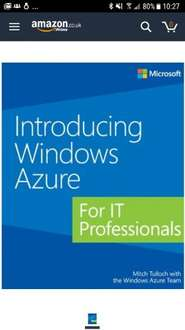 Introducing Windows Azure for IT Professionals Free @ Kindle Amazon