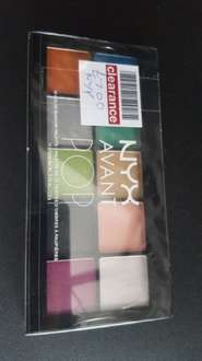 NYX makeup boots instore reduced £7