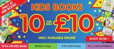 Any 10 kids books for £10! @ The Works