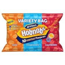 McVitie's Hobnobs Flapjacks Variety Bag 10 pack - £1 at Heron Foods