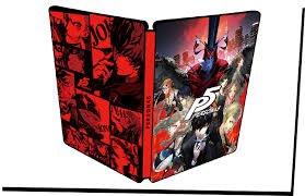 Persona 5 (PS4) Steelbook launch edition - £43.99 (£41.99 Prime) Amazon