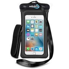 WaterHero Adventure Phone Case  Built in AUDIO-JACK £8.99 prime / £12.98 non prime Sold by WATERHERO® and Fulfilled by Amazon