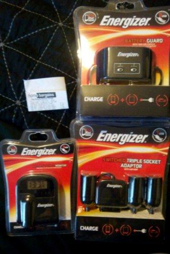 energiser car accessories  £2.99 @ home bargains