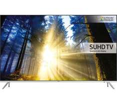 "SAMSUNG UE55KS7000 Smart 4k Ultra HD HDR 55"" LED TV w/ FREE wireless HW-K651 soundbar using code £899.99 @ Currys"