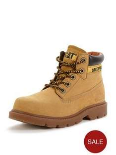 Cat Colordo Kids Boots - Various Sizes - Black/Camel - £28 - Very