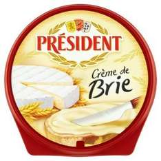 President Creme De Brie Cheese (125g) was £1.48 now £1.00 (Rollback Deal) @ Asda