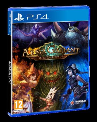 ArmaGallant: Decks of Destiny (PS4) £17.86 Delivered (Preorder) @ Shopto