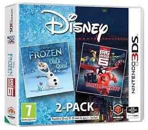 Frozen & Big hero 6 double pack (3DS) £9.85 @ ebay via boss deals
