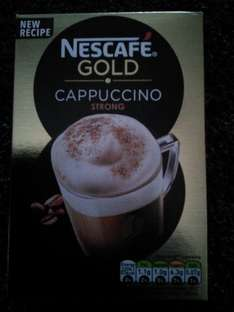 Nescafe Gold Cappuccino (strong) - scanning at 50p instore @ Asda