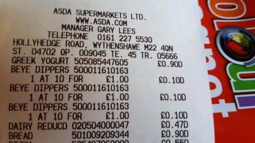bird's-eye chicken dippers 42 bag - 10p instore @ Asda