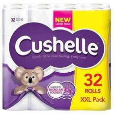 32 Cushelle toilet rolls - £10.99 @ Poundstretcher