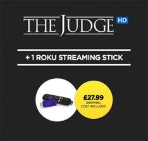 Roku streaming stick + The Judge £27.99 @ Wuaki