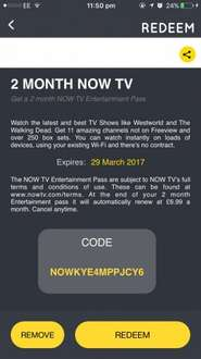 Nowtv 2 months free
