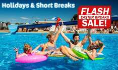 Park Holidays flash sale from £69 for Easter holidays for 3 nights and £79 for 4 nights