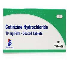 Hayfever / Allergies - Cetirizine Hydrochloride 30 tablets 69p a pack (£1.99 del) - £10.27 for 12 month supply @ Chemist 4 U