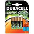 Duracell Rechargeable (1000 mAh) Supreme Batteries AAA 4 pack - £6.10 delivered at Amazon.