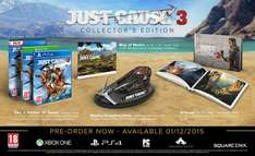 Just Cause 3 Collector's Collectors Edition PC £24.99 @ Play-UK via eBay