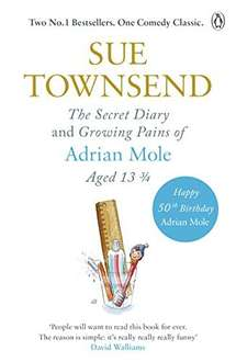 The Secret Diary & Growing Pains of Adrian Mole Aged 13 ¾ (First 2 Books) by Sue Townsend Kindle Edition 99p @ Amazon