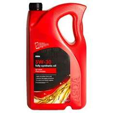 5 Lt Asda Motor Oil Synthetic/Semi Synthetic Rolled Back to £13 @ ASDA