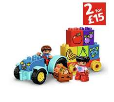 Two for £15 on two sets of Lego DUPLO. Good for 18 months+ (Links in description) @ ARGOS