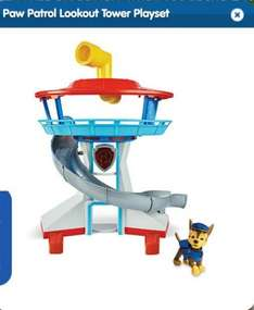 Paw Patrol Lookout Tower £21.99 Entertainer c&c